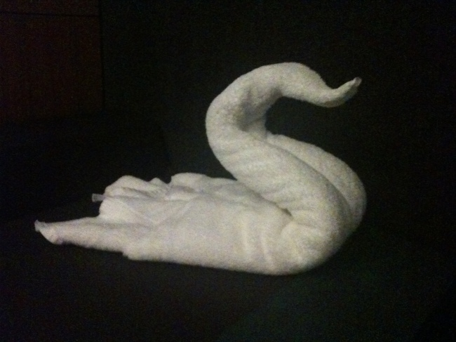 Towel Sculptures