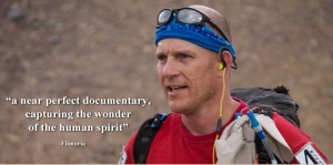 Desert Runner Tremaine, a man who raced to raise money for a charity in honor of his wife who recently passed away