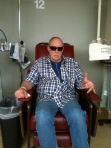 Only Dad could make chemo look this good!